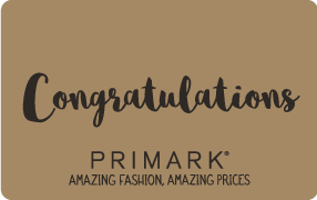 Primark eGift Congratulations