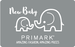 Gift Card - UK - New Baby Elephant